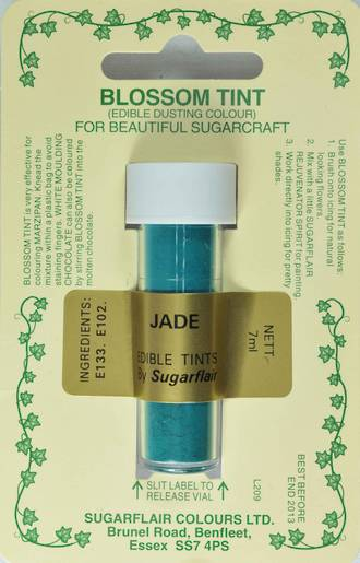 Sugarflair Edible Dusting Colour Jade - SOLD OUT