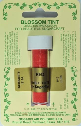 Sugarflair Edible Dusting Colour Red