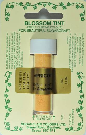 Sugarflair Edible Dusting Colour Apricot