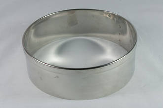 Stainless Steel Cake Rings 50x50mm deep, Stainless steel - made to order