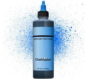 Chefmaster Airbrush Liquid Brite Blue 9oz - SOLD OUT
