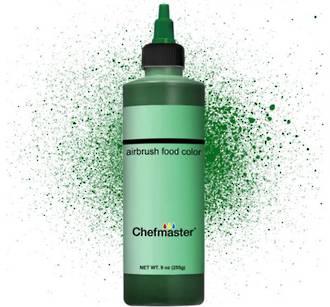 Chefmaster Airbrush Liquid Dark Green 9oz - SOLD OUT