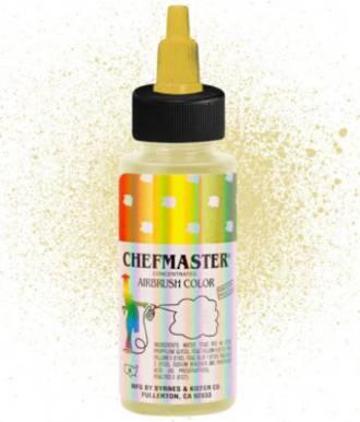 Chefmaster Airbrush Metallic Gold 2oz