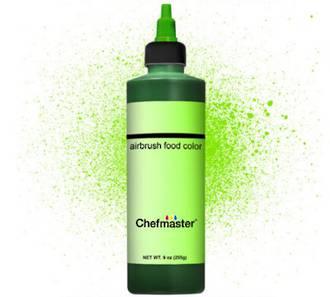 Chefmaster Airbrush Liquid Brite Green 9oz