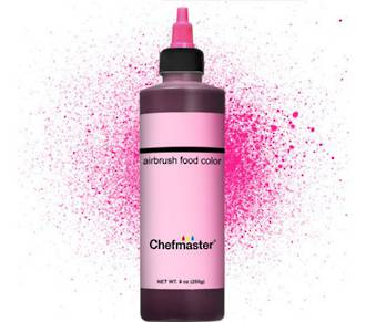 Chefmaster Airbrush Liquid Deep Pink 9oz