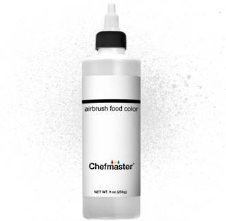 Chefmaster Airbrush Liquid White 9 oz