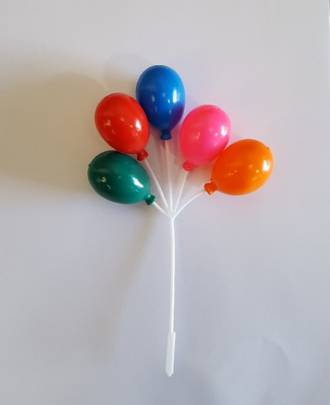 Bunch of 5 Balloons