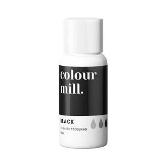 Colour Mill- Oil Based Colouring Black (20ml)