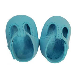 Gumpaste Baby Shoes-Blue  (I PAIR)