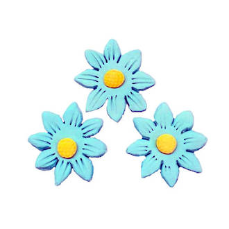 Icing Blue Daisy,35mm Box of 120