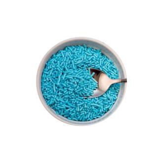 Sprinkles Blue (1kg bag)