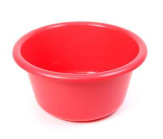 36cm diameter 9.5 litre Plastic Bowl (Astd colours)