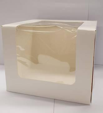 "Cake Box (Window - 6""x6""x5"")"