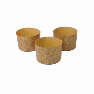 Brioche Paper Baking Mould (70mm x 50mm - Pack of 100)