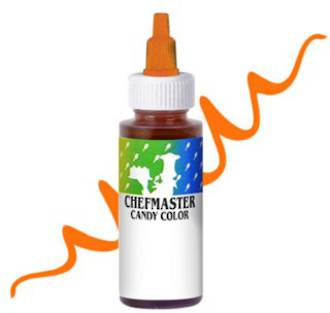 Chefmaster Liquid Candy Colour Orange 2oz