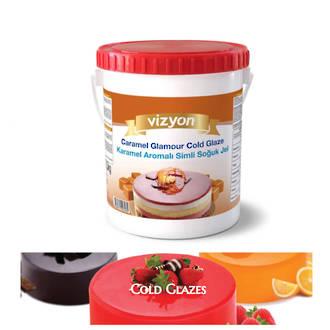 Caramel Cold Glaze 2.5kg Pail