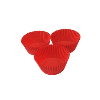Cupcake Paper Cases Red 44x30mm (500)