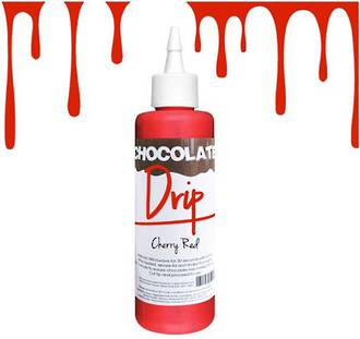 Chocolate Drip Cherry Red 250g -