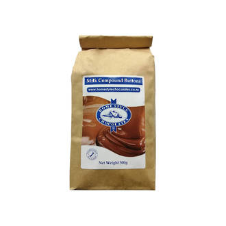 Chocolate Candy Buttons - Milk (500gm)