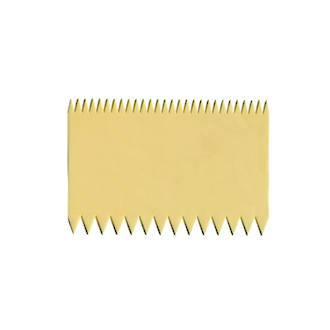 Plastic Decorating Comb (Double Sided) 110mm