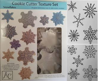 Cutter Texture Set Snowflake 50-79mm (7 piece set)