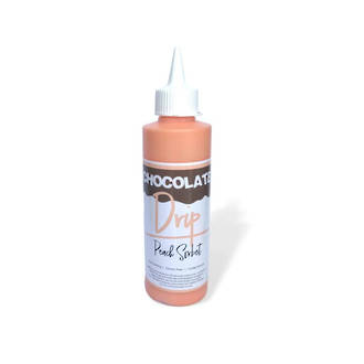 Chocolate Drip Peach Sorbet 250g