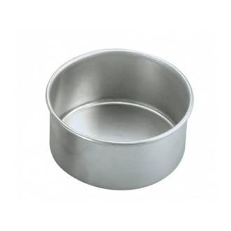 200x75mm Round Aluminium Solid Cake Pan
