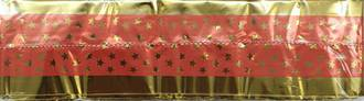 Cake Band Star Pink/Gold 63mm (7m) (sold out)