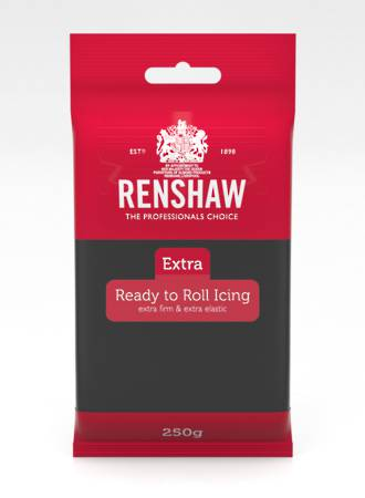 Renshaw: Extra- Black Icing 250g (12) - SOLD OUT