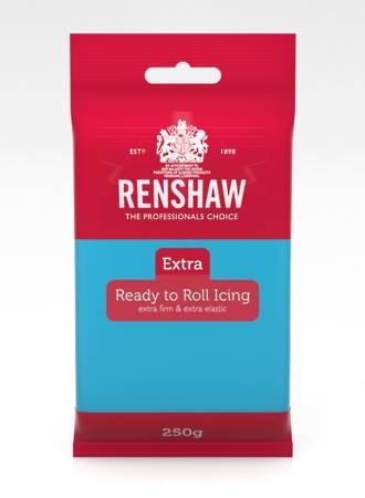 Renshaw: Extra- Blue Icing 250g (12)