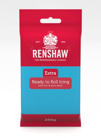 Renshaw Extra- Blue Icing 250g