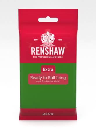 Renshaw: Extra- Green Icing 250g (12)