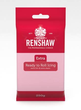 Renshaw: Extra- Pink Icing 250g (12)