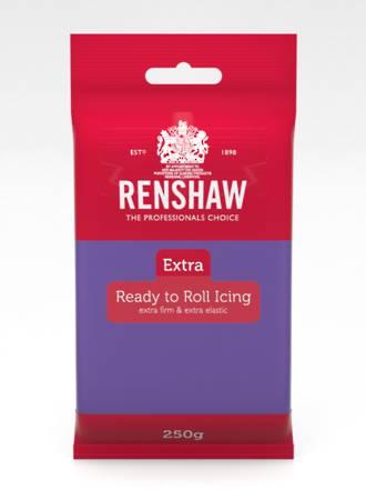 Renshaw: Extra- Purple Icing 250g (12)