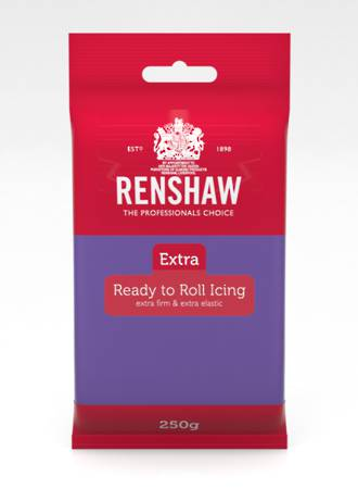 Renshaw Extra- Purple Icing 250g