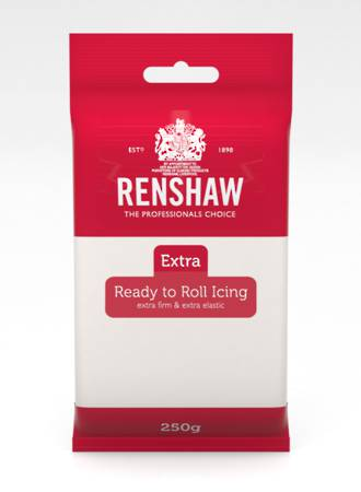 Renshaw: Extra- White Icing 250g (12) SOLD OUT