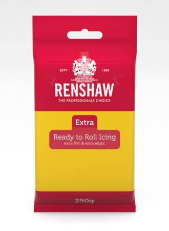 Renshaw: Extra- Yellow Icing 250g (12)