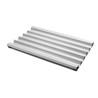 Non-perforated Aluminium French Stick Tray, 735x406mm (29x16)