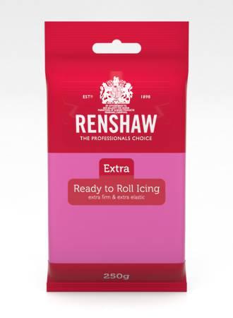 Renshaw: Extra- Fuchsia Pink Icing 250g (12)