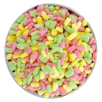 Fudge Sprinkles - 3 Colour Naturals (4-8mm) 1kg bag