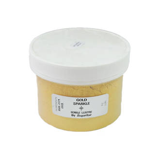 Sugarflair Edible Lustre Colour Gold Sparkle 100g - SOLD OUT