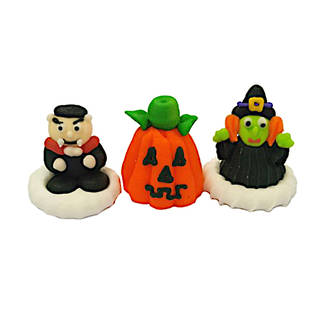 Halloween (3D Assorted Icings - Packet of 6) - SOLDOUT