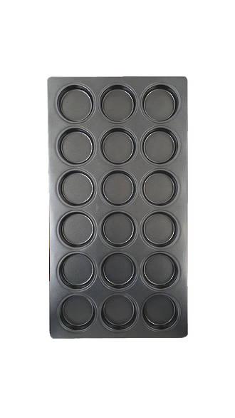 Hamburger Tray, Tray size 760x400x40mm Bun: 102x23mm (18)