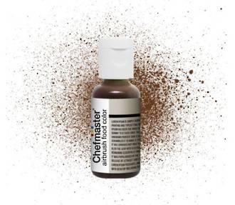 Chefmaster Airbrush Liquid Harvest Brown .64oz Bottle - SOLD OUT