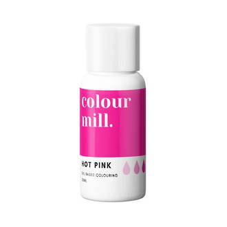 Colour Mill- Oil Based Colouring  Hot Pink (20ml)