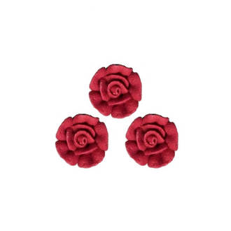 Icing Red Roses 10mm, packet of 24 - DELETE WHEN SOLD