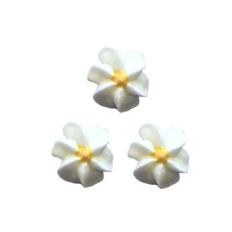 Icing White Drop Flowers 18mm (Packet of 50)
