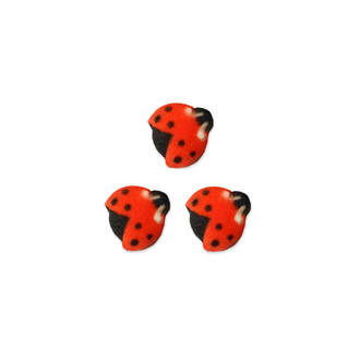 Ladybug Dec-on Sugar Decorations 19mm (Box of 176)