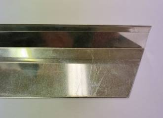 Baking Tray Divider/End 400x60x32mm (Tin Plate)