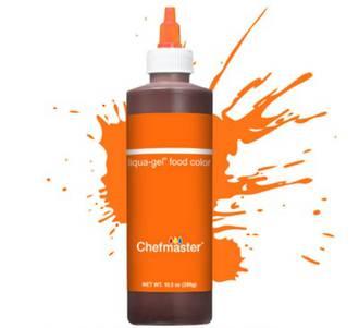 Chefmaster Neon Brite Liquid Brite Orange